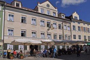 Hotel in der Marktstraße in Bad Tölz