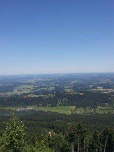 Blick über Region Bad Tölz