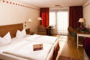 Hotelzimmer in Bad Tölz im Posthotel Kolberbräu