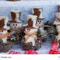 Brauchtum in der Adventszeit Der Schneemann - das Markenzeichen im Winter