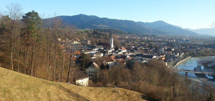 Wandern im Frühling, Der Kalvarienberg
