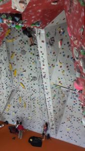 Kletterwand Kletterhalle Bad Tölz