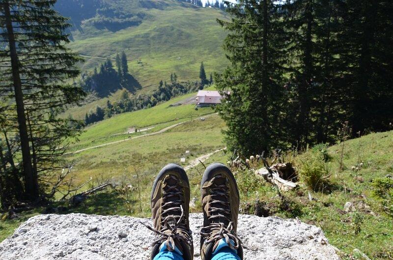 Urlaub in den Bergen, der blomberg,