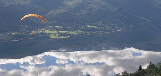 Flugsport in Bad Tölz: Drachenfliegen und Paragliding