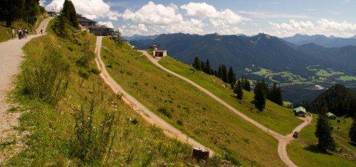 Ein Ausflug ans Brauneck, Wanderungen und Fahrradtouren mit Kindern