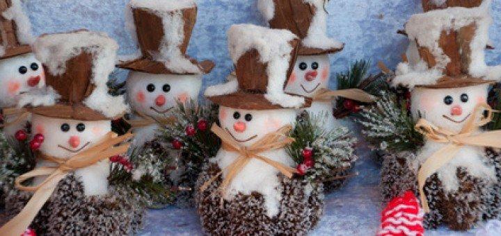 Adventszeit in Bad Tölz Brauchtum in der Adventszeit Der Schneemann - das Markenzeichen im Winter