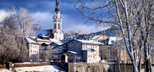 MuSeenLandschaft im Winter in Bad Tölz