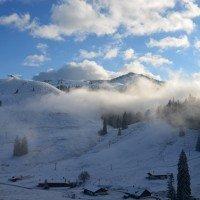 Wandern und Schneeschuhwandern / Wo gibt es schon ein bisschen Wintervergnügen?