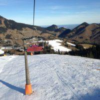 Die Skisaison hat begonnen