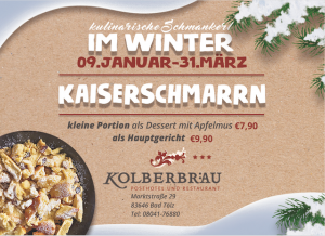 Kaiserschmarrn in Bad Tölz