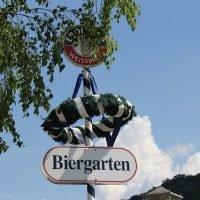 Biergarten in Bad Tölz
